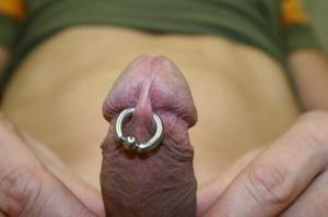 Piercing penis frenum Penis Piercings